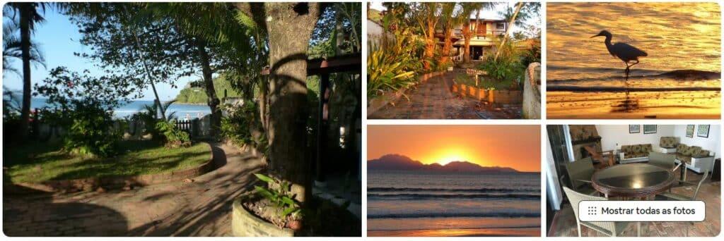 """Linda casa """"pé na areia"""", um dos Airbnb na Praia das Toninhas"""