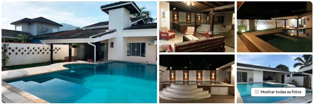 Casa com piscina entre os Airbnb na Praia da Lagoinha