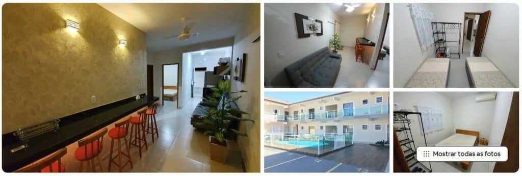 Apartamento confortável disponível no Airbnb em Maranduba