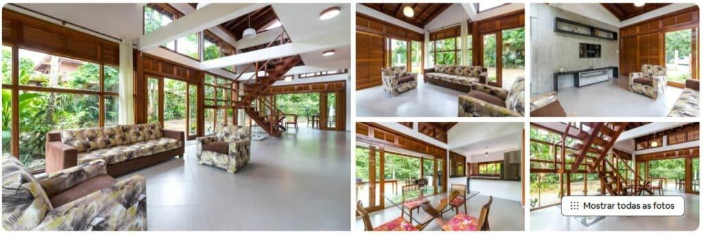 Espaços do Airbnb Luxo e Conforto em Itamambuca II