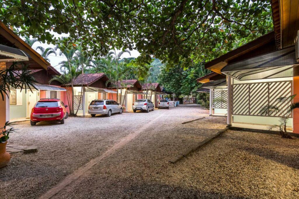 Estacionamento na Pousada Sanremo Inn