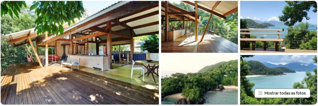 Espaços do Airbnb Praia do Felix Casa com Vista Incrível
