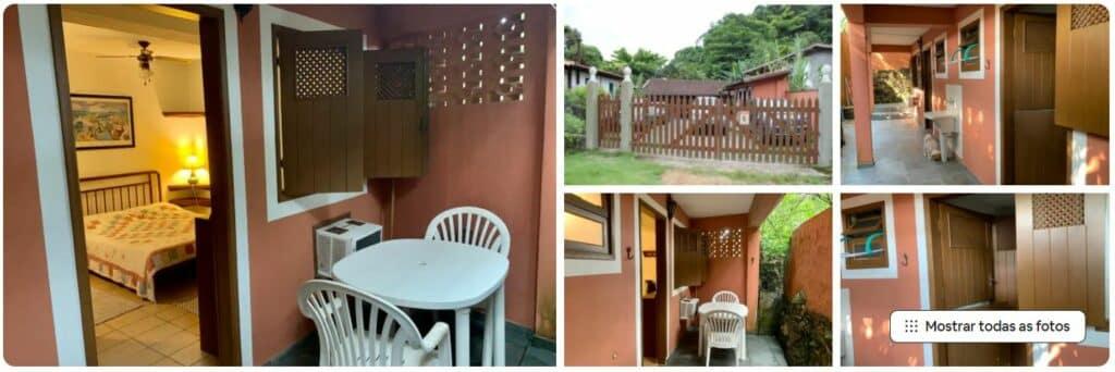 Espaços no Airbnb econômico Quartinho em Picinguaba