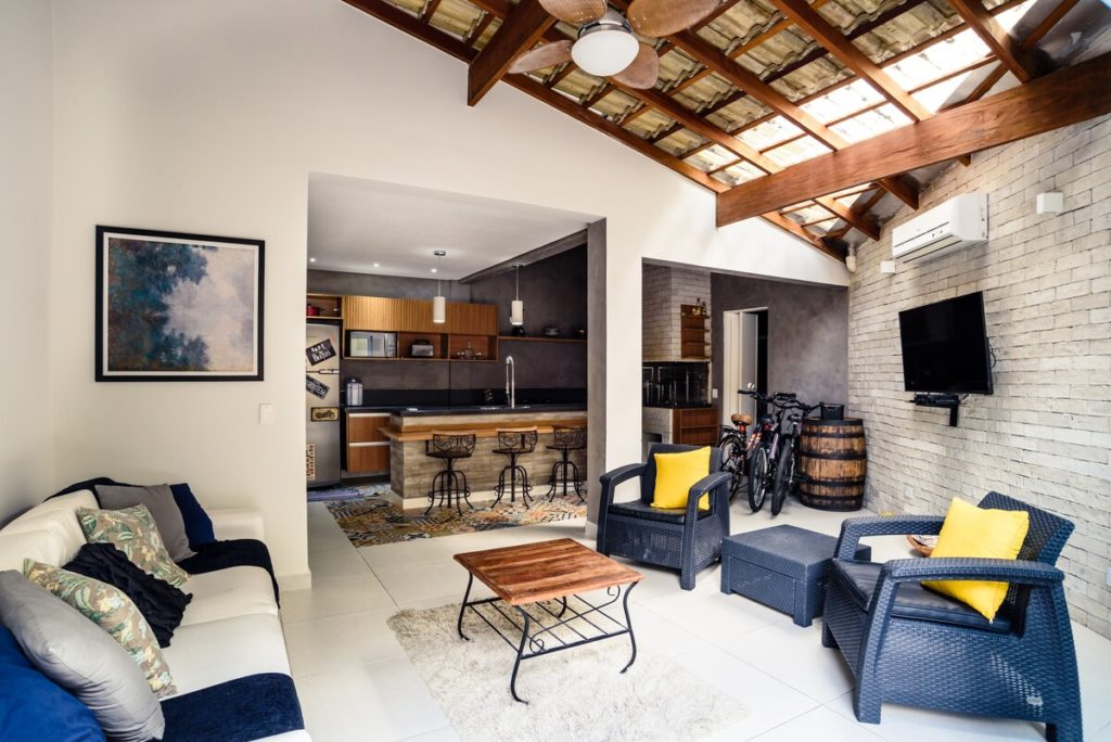casa airbnb juquehy em condominio fechado