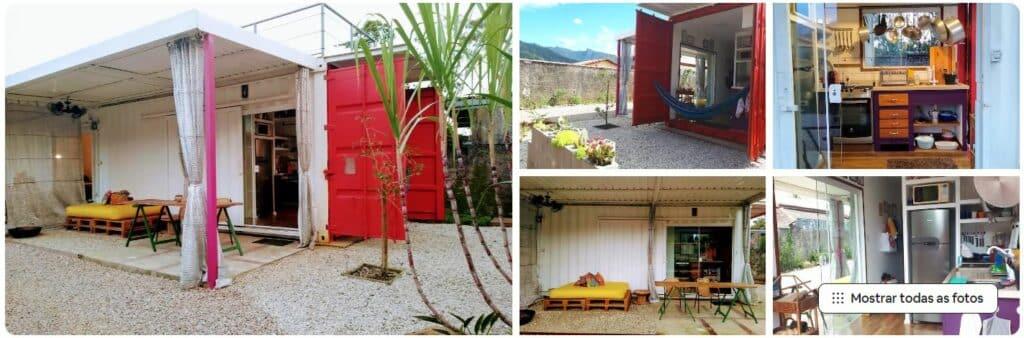 Suíte Container com Cozinha, um dos Airbnb na Praia de Lagoinha