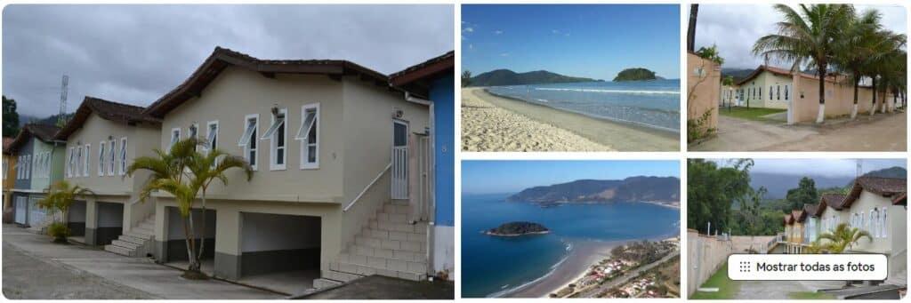 Airbnb 250 metros da praia casa condomínio