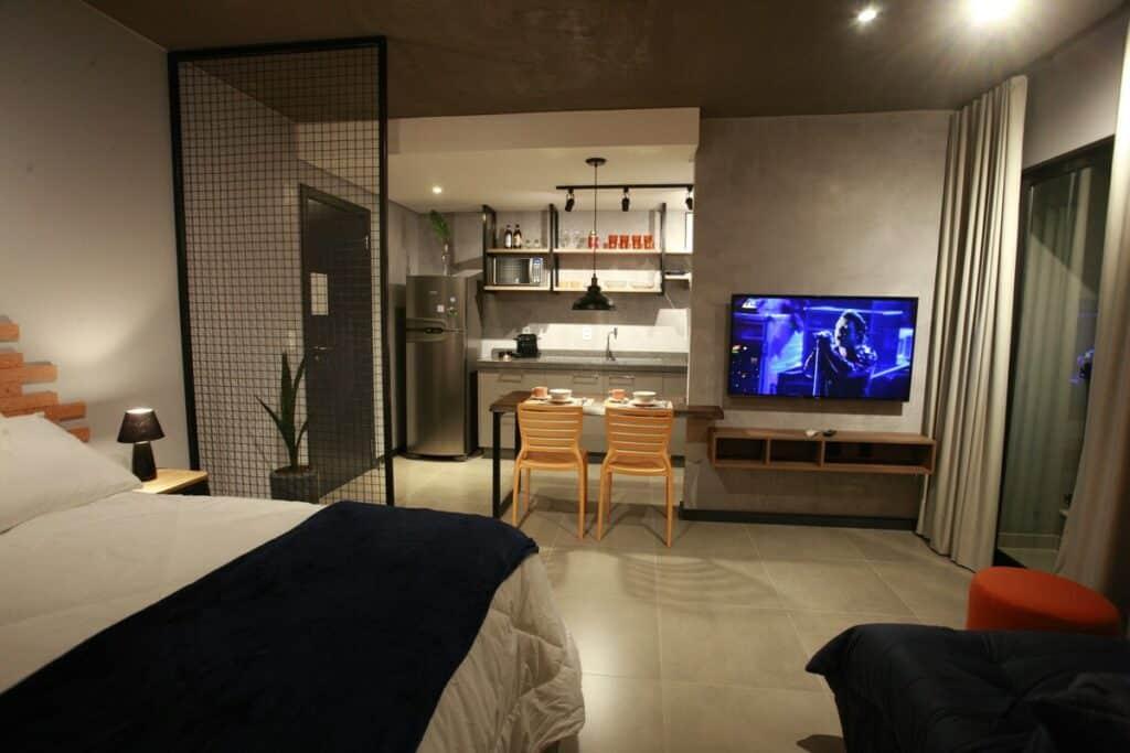 Loft próximo à Vila Germânica airbnb em Blumenau