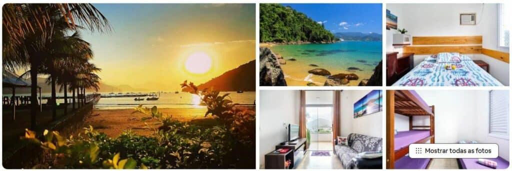 Airbnb Apartamento em Itaguá tranquilidade ótima localização