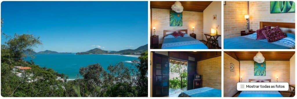Bangalô romântico, um dos Airbnb na Praia do Tenório