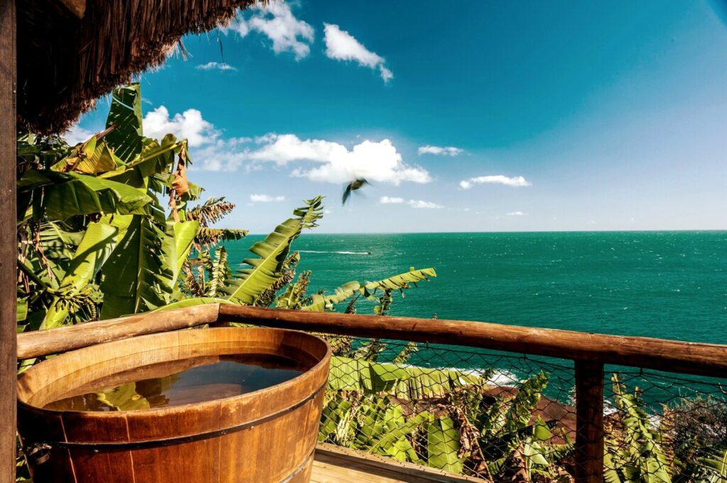 Cabana do Mar/cabana privativa/ar condicionado