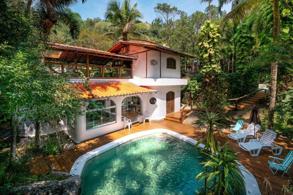 Casa c/vista estrelas c/piscina privada, cachoeira