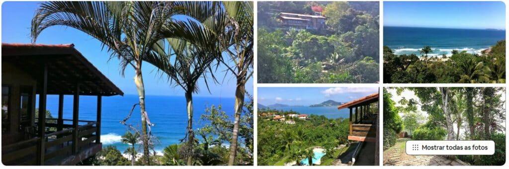 Fotos da Casa com Vista Panorâmica, um dos Airbnb na Praia do Tenório