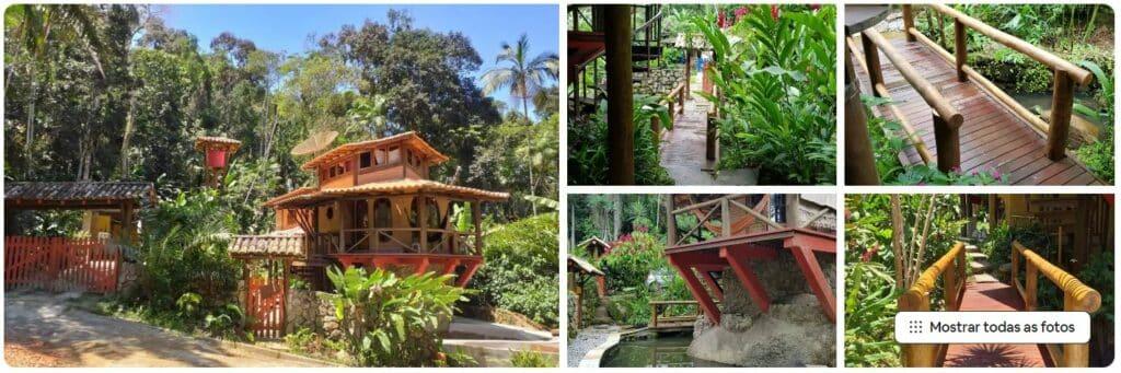Casa da Pedra, um dos Airbnb na Praia do Tenório