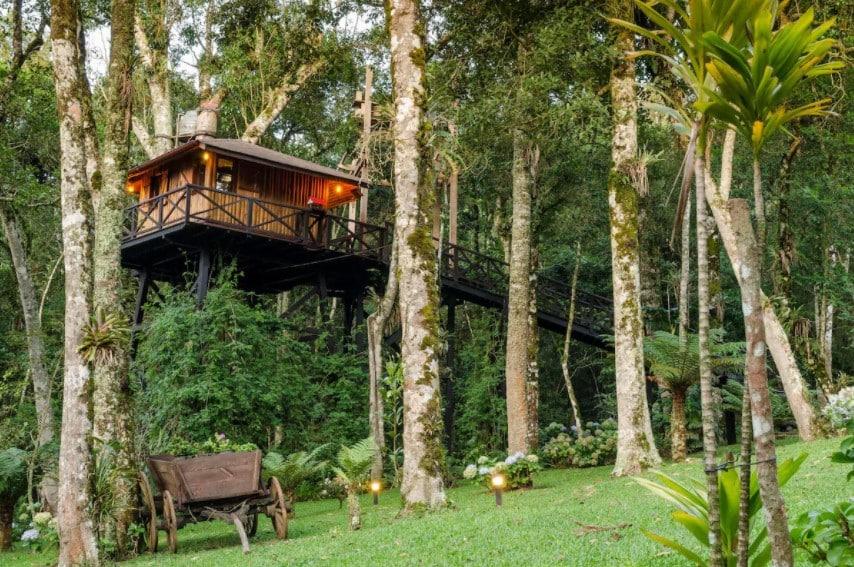 airbnb Casa na Árvore nas Montanhas