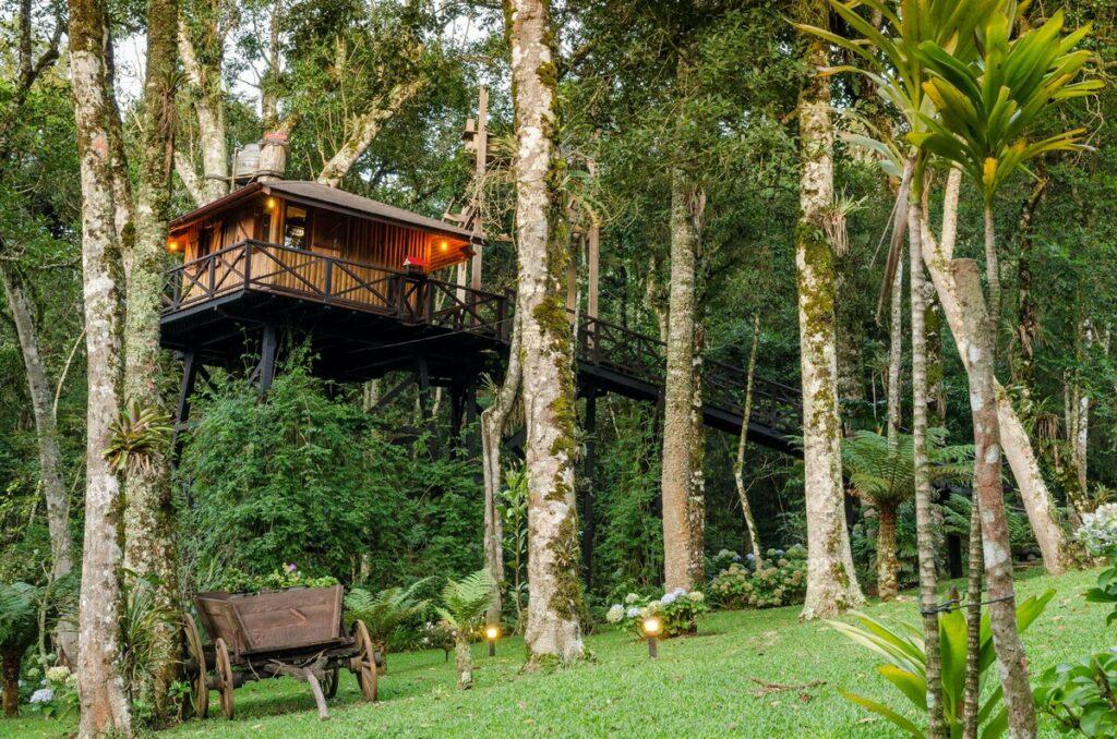 Casa na Árvore nas Montanhas (c/ café da manhã)