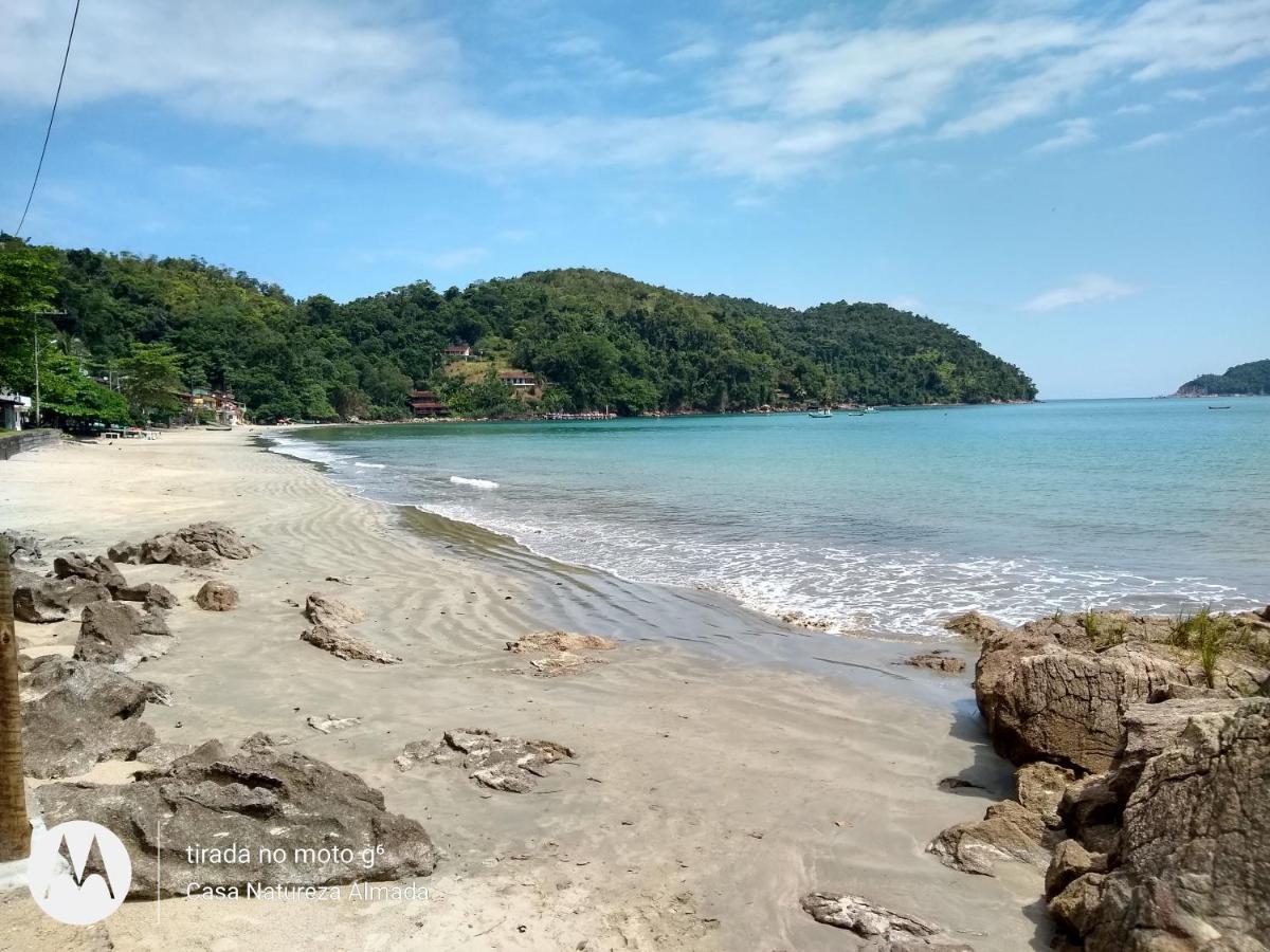 Vista da Casa Natureza, Mar, Floresta - uma das pousadas na Praia da Almada