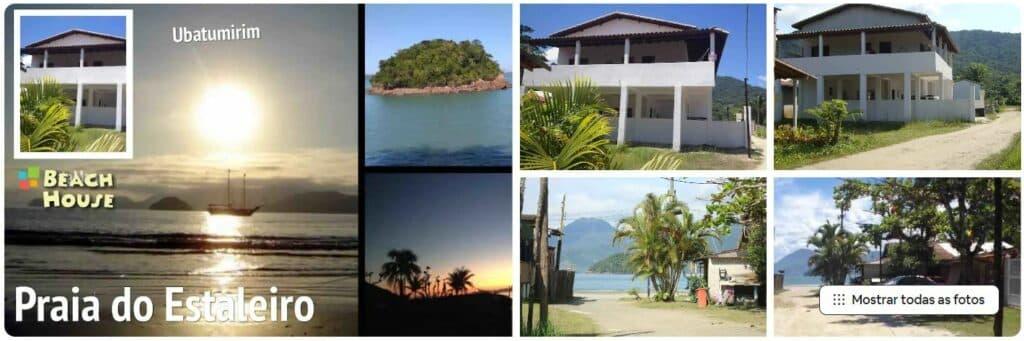 Casa no paraíso, na Praia do Estaleiro