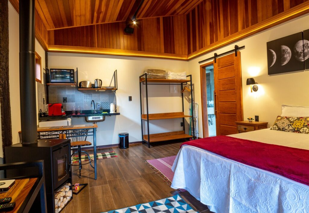 airbnb chalé lua nova