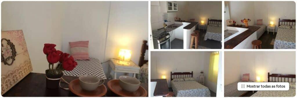 Fotos do Estúdio clean e prático, um dos Airbnb em Itaguá, Ubatuba