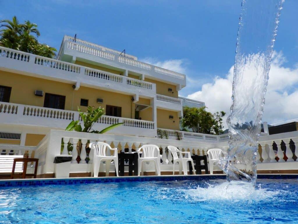 Piscina do Hotel Parque Atlântico