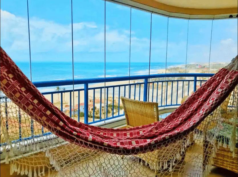 airbnb Apartamento com maravilhosa vista mar em Fortaleza