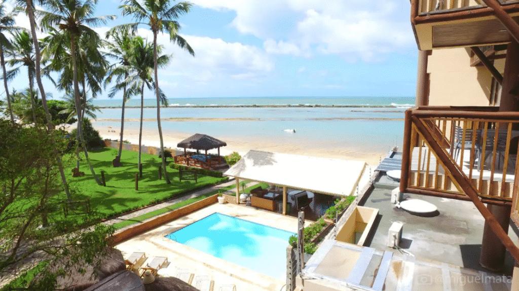 Condomínio Barra Bali pé na Areia e vista incrível