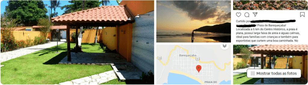 casa a 70 metros da praia de barequeçaba