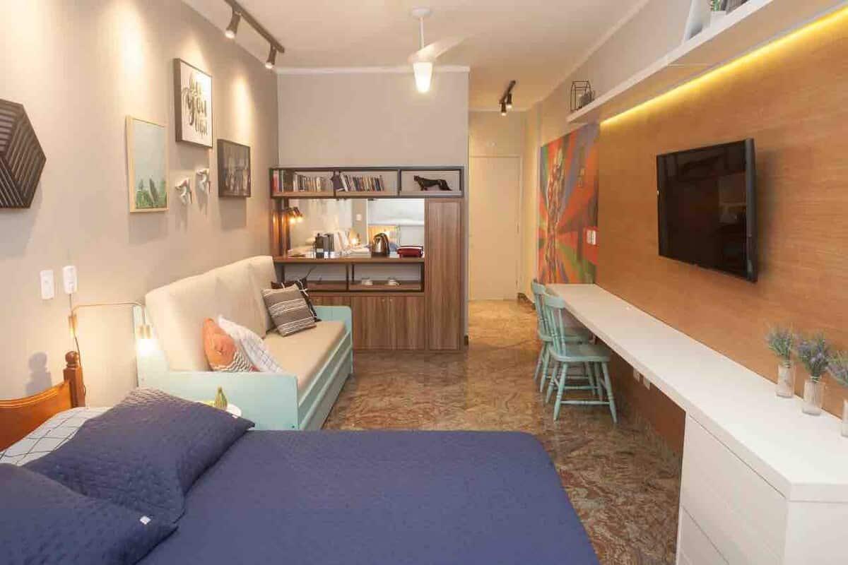 airbnb kitnet no centro de Guarujá
