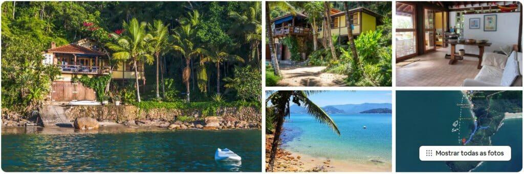 Fotos da Linda Casa em Lugar Paradisíaco, um dos Airbnb na Praia da Almada