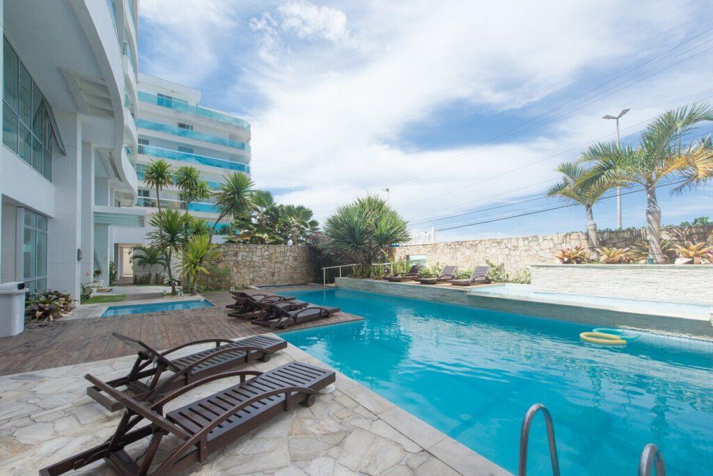 Airbnb apartamento na praia do Forte em Cabo Frio