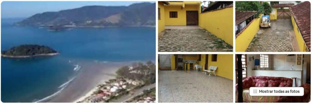 Fotos do quintal do Airbnb Praia da Maramduba - 200 metros da praia do Sapê