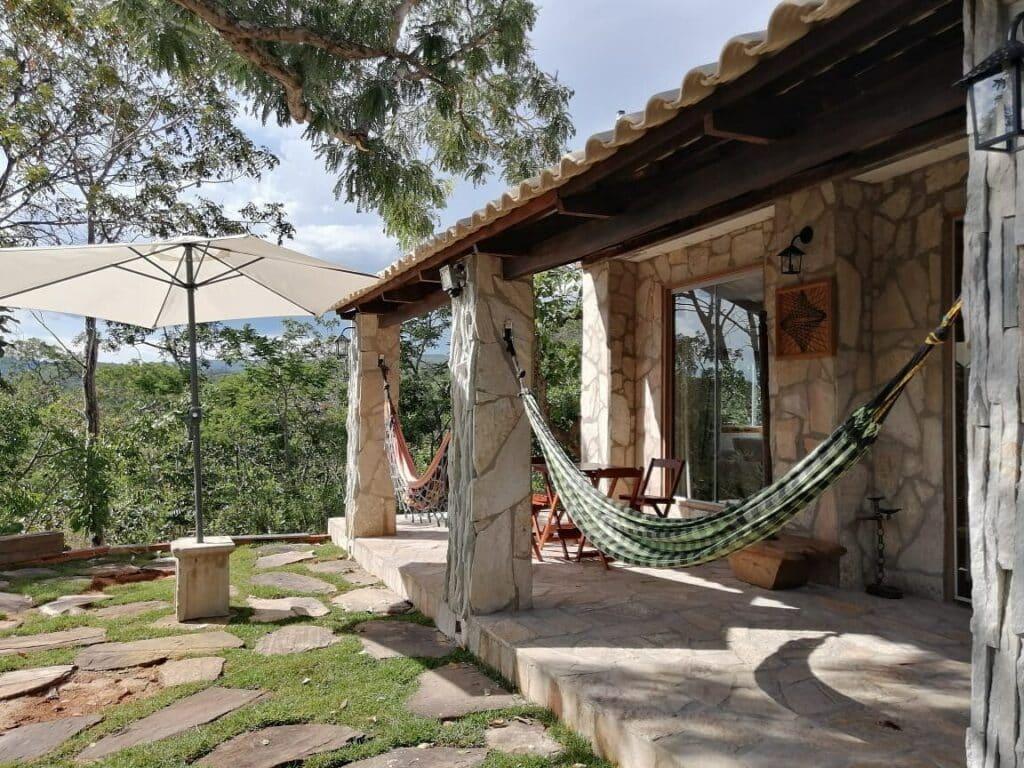 airbnb sítio rochedo em pirenópolis