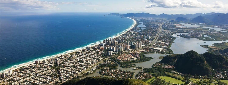 Barra da Tijuca, uma das partes do Rio de Janeiro mais repletas de bons Airbnb
