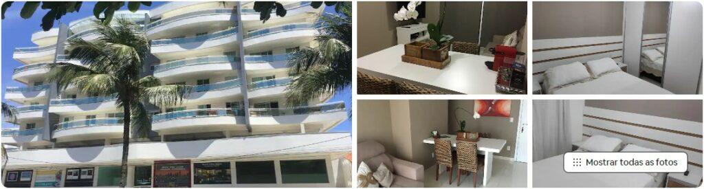 Airbnb Apartamento Completíssimo com Varanda em Cabo Frio