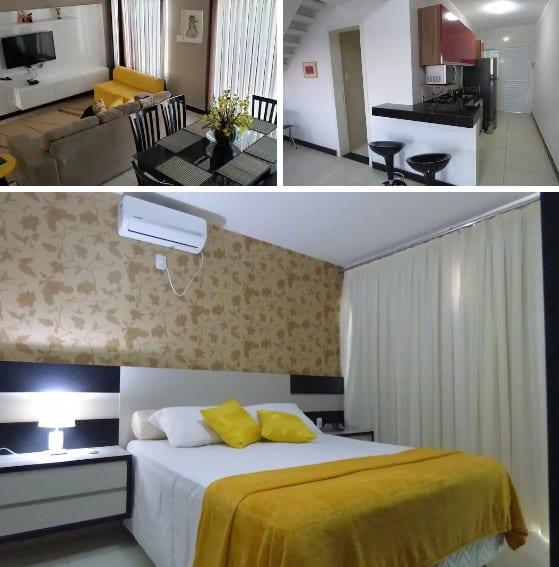 airbnb apartamento duplex em escarpas do lago