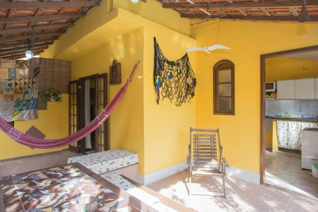 área externa da casa do murebe