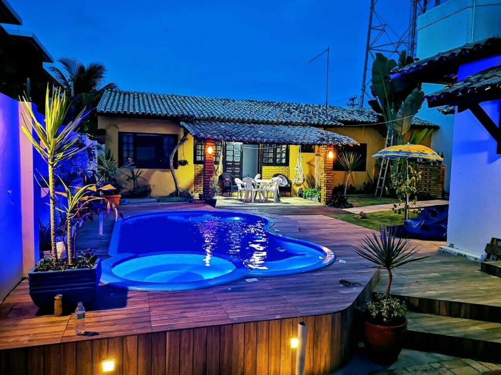airbnb Bangalô Beira-Mar com Piscina