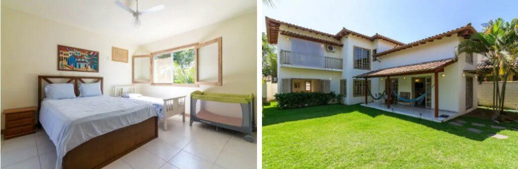 airbnb Belíssima e Espaçosa Casa no Caborê em Paraty