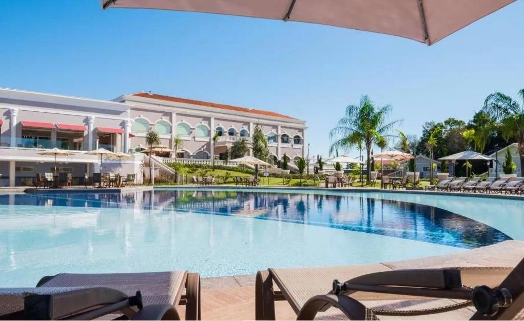 piscina do Hotel Wish em foz do iguaçu