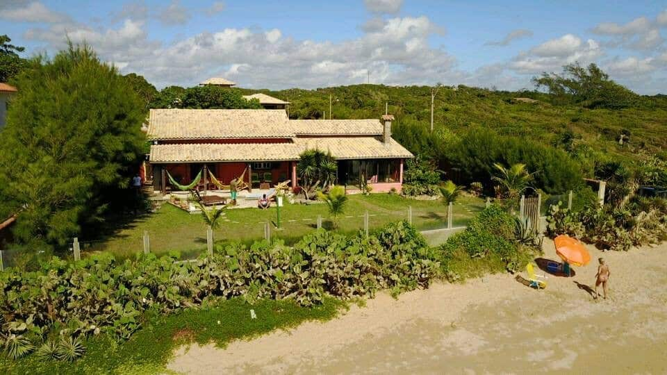 Casa Beira Mar na Praia Rasa em Búzios