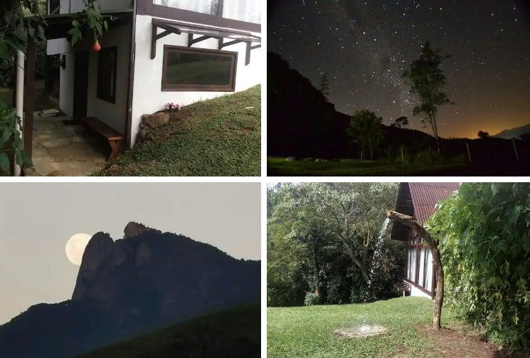 visto do airbnb Casa da Montanha em Visconde de Mauá