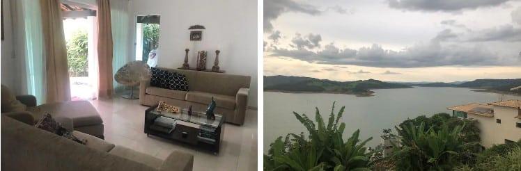 airbnb casa com piscina em escarpas do lago em capitólio