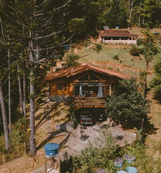 airbnb Casa da Montanha em Pallumare em Itatiaia