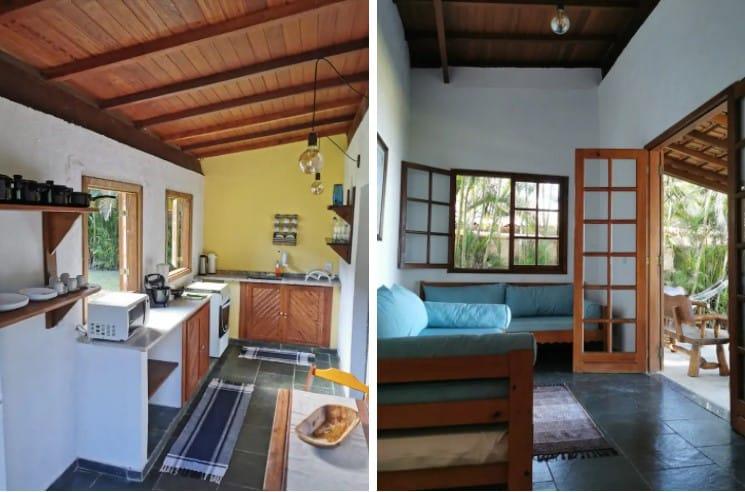 """Casa de Temporada """"Areka Bambu"""" em Ilha Grande"""