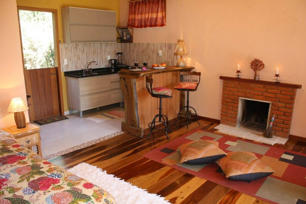 airbnb Romântico Chalé no Vale do Pavão