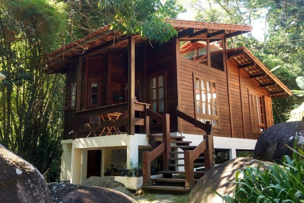 airbnb Chalé Recanto do Nativo em Ilha Grande