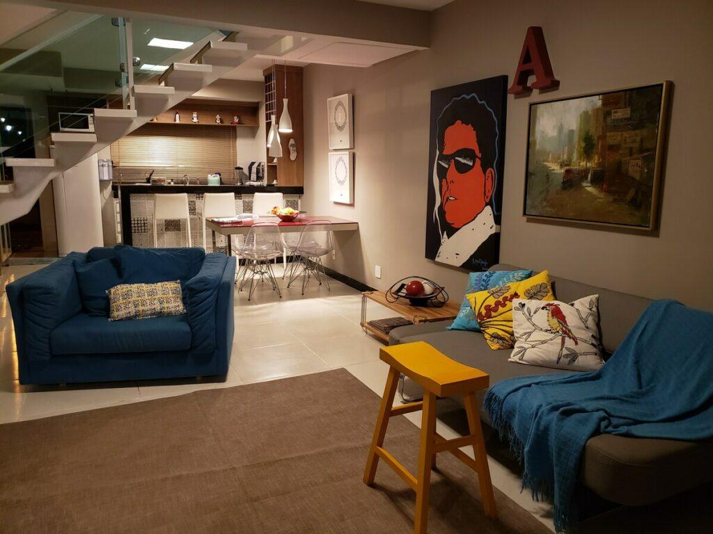 airbnb apartamento no condomínio mirante de escarpas do lago