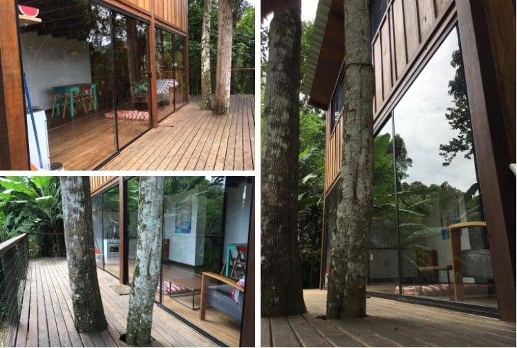 airbnb Casa na Floresta na ilha grande