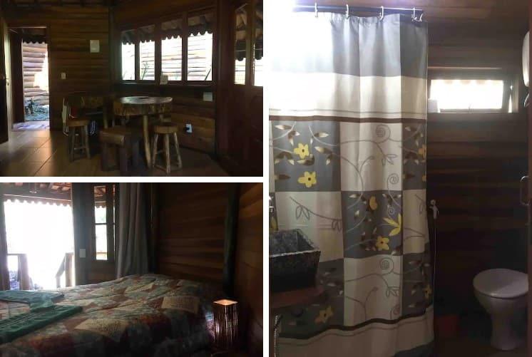 airbnb Cabana Canto dos Cristais em Visconde de Mauá