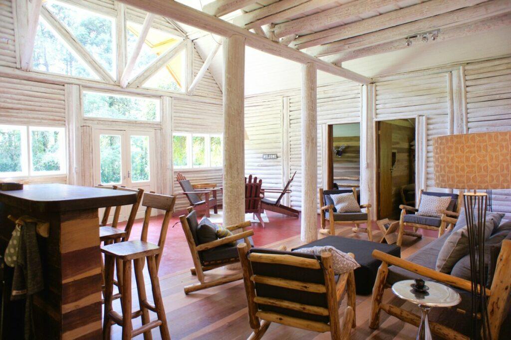interior do airbnb Casa da Cachoeira em Visconde de Mauá